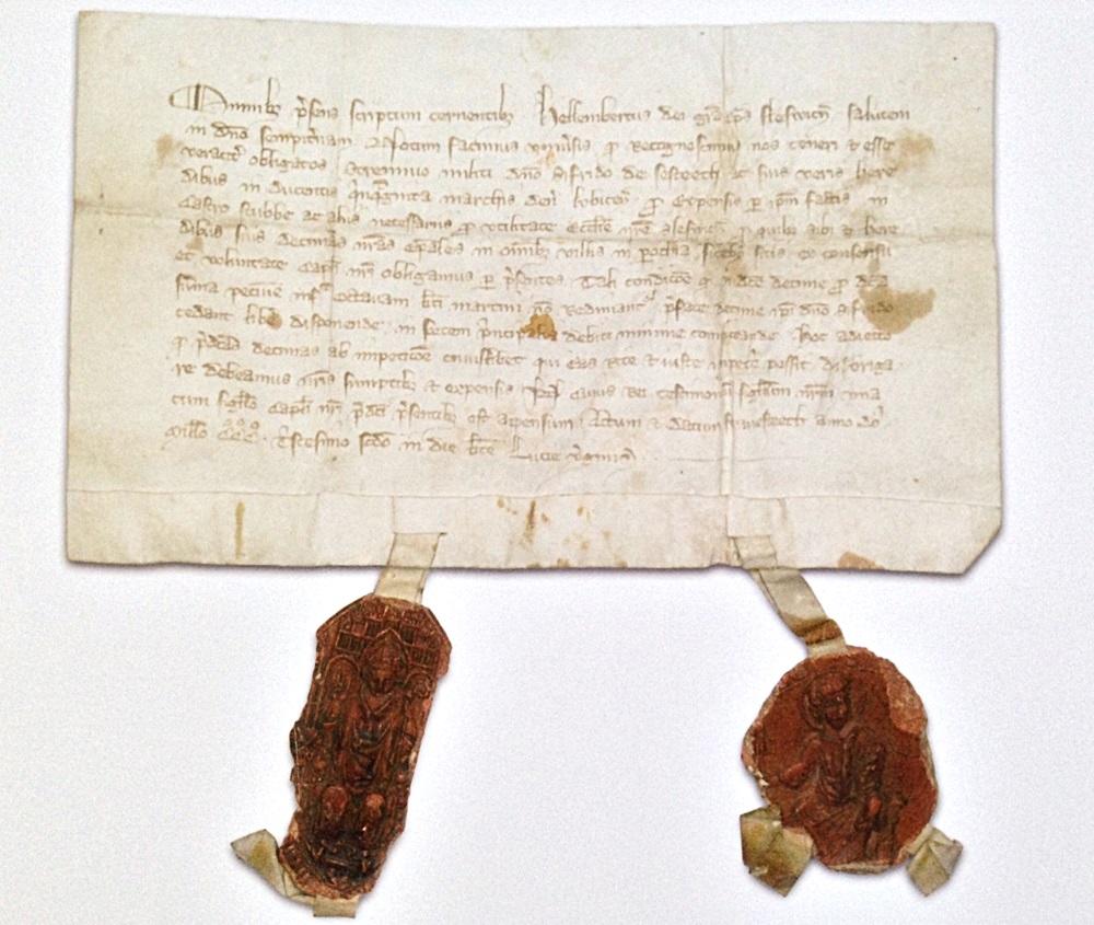 Urkunde von 1332 nennt Helmbrecht von Visbeke als Eigentümer von Gut Stubbe