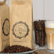 Kaffee von der Frieda Kaffeerösterei Goldhöft