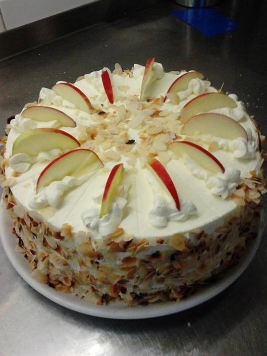 Apfelmus Torte