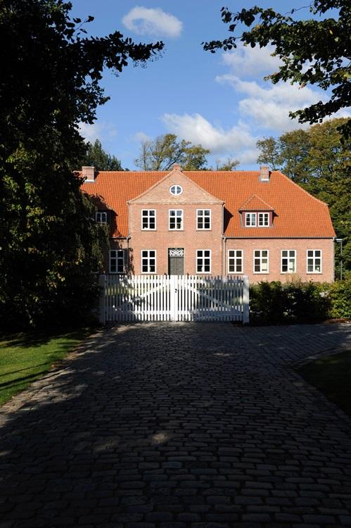 Das Herrenhaus auf Gut Stubbe in Rieseby
