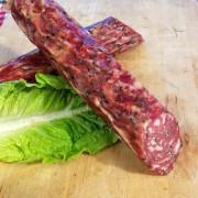 Salami Kräuter vom Angler Sattelschwein von Gut Stubbe